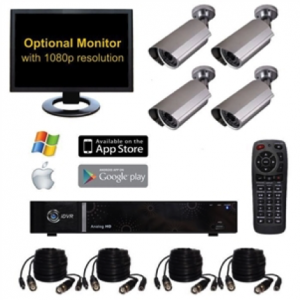 The OHS-4BI047 Home Surveillance System